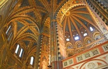 Frescos del interior de la Basilica