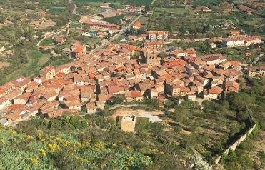 Poza de la Sal desde el Castillo