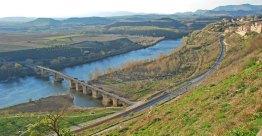 El río Ebro a su paso por San Vicente