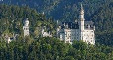 Castillo de Neuschwanstein y Bosque de los Alpes Bávaros
