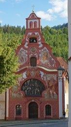 Füssen. Iglesia del Hospital del Espiritu Santo