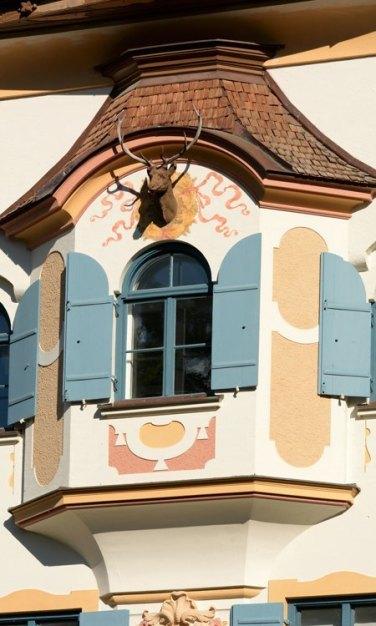 Hohenschwangau. Balcón