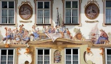 Oberammergau. Ayuntamiento. Pintura