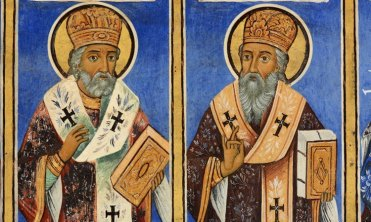 Monasterio de Rila. Frescos de Profetas