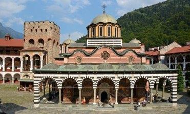 Monasterio de Rila. Iglesia de la Natividad y Torre de Hrelyo