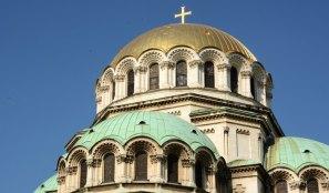 Sofía. Ábside de la Catedral de Alexander Nevski