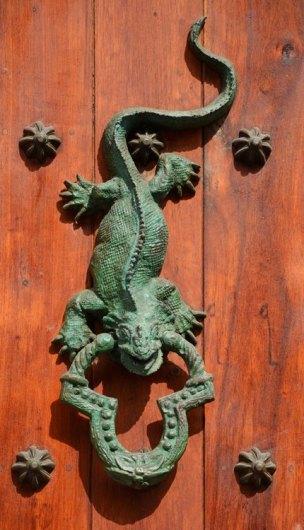 Llamador Dragón de Komodo