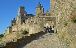 Rampa de acceso desde el Aude