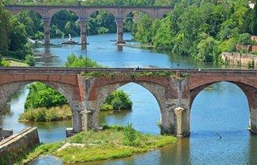 Río Tarn y Puente Viejo