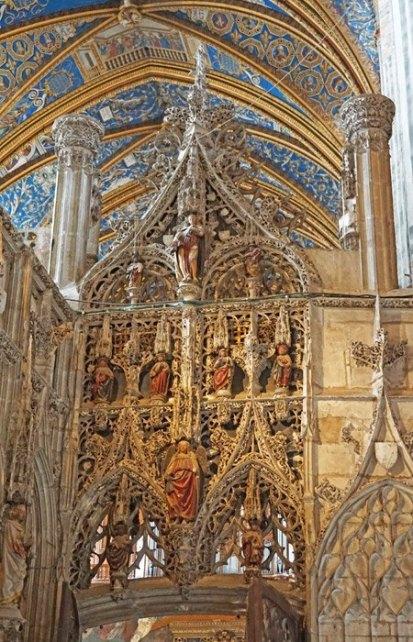 Puerta de acceso al Tesoro Catedralicio