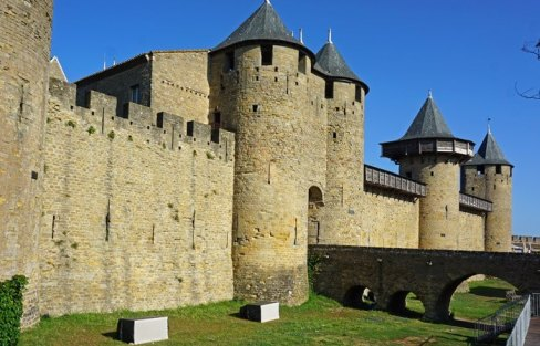 Castillo Condal - Entrada Principal