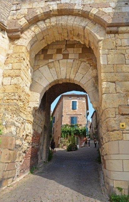 Porte des Ormeaux desde el exterior