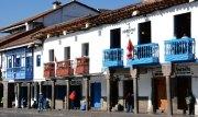 Plaza de Armas. Casas Castellanas