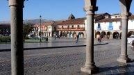 Plaza de Armas. Soportales