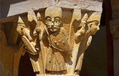 Capitel del claustro (Conques)