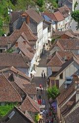 Rue Roland le Preux desde el castillo