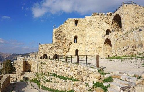 Castillo de Al-Karak: Patio de Armas