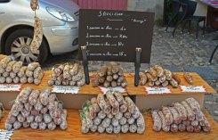 Embutidos locales en el mercado