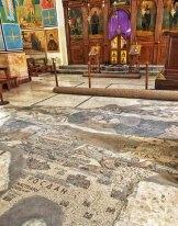 Iglesia de San Jorge - Mapa de Madaba