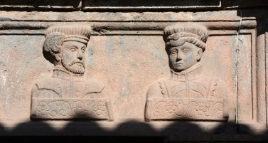 Casa de los Cuatro Bustos. Francisco y Gonzalo Pizarro