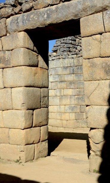 Machu Picchu. Barrio de los Nobles. Puerta