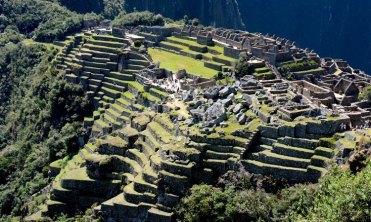 Machu Picchu. Ciudadela