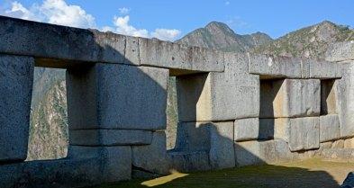 Machu Picchu. Templo de las Tres Ventanas