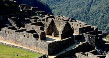 Machu Picchu. Templos de las Vírgenes del Sol y del Cóndor