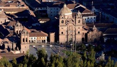 Plaza de Armas desde el Mirador de San Nicolas
