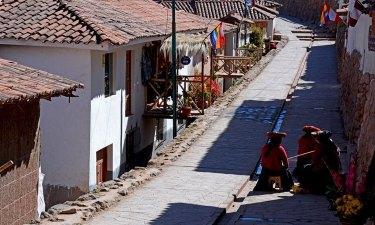 Chinchero. Calle
