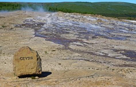 El Gran Geysir es el mayor pero muy irregular