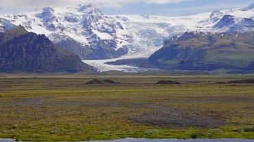 Lengua glacial de Svinafellsjökull