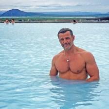 CarlosdeViaje en los Baños de Mývatn