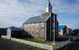 Eyrarbakki - Iglesia de madera