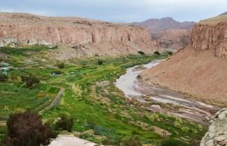 Río Salado en Ayquina