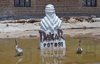 Salar de Uyuni - Monumento al Dakar