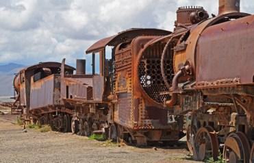Uyuni era un centro ferroviario