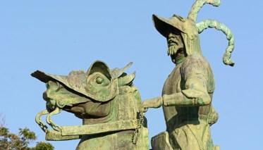 Detalle del Monumento a Pizarro