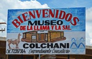 Colchani - Cartel Museo de Sal