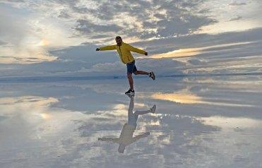 CarlosdeViaje en el Salar de Uyuni