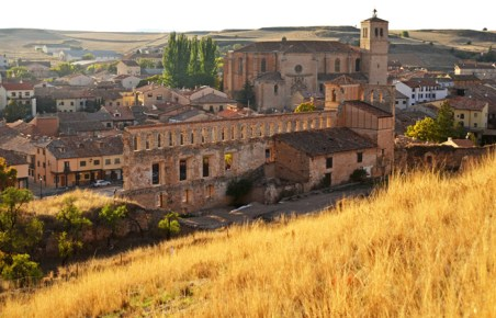 Ruinas del palacio y colegiata