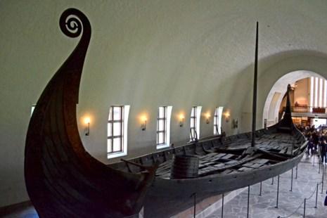 Museo de los Barcos Vikingos. Barco de Oseberg