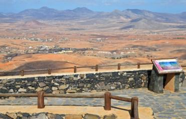 Vistas hacia Llanos de la Concepción