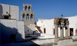 Monasterio de San Juan. Claustro y Campanario