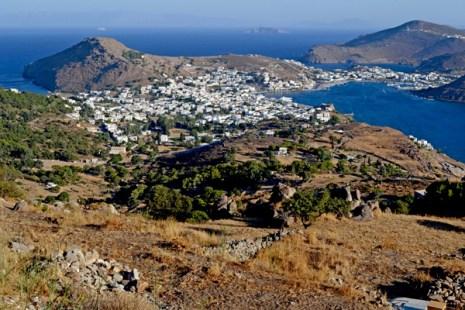 Patmos. Istmo y Skala