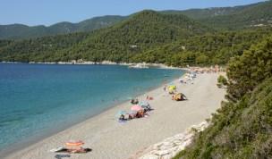 Playa de Milia y Bosques