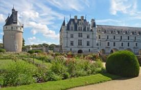 Chenonceau - Jardines de Catalina de Médicis