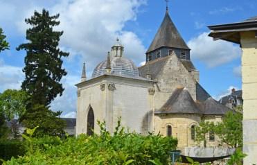Azay-le-Rideau : Iglesia Saint Symphorien
