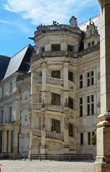 Castillo de Blois - Escalera Renacentista