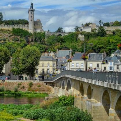 Chinon - Puente sobre el Vienne